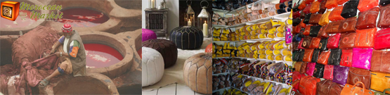 discover our moroccan product 100% leather