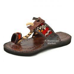 Sandales Berbères en cuir