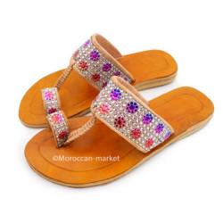 Sandales Salma en cuir