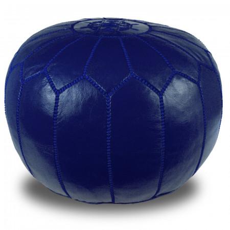 pouf design bleu