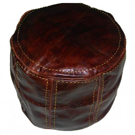 pouf cuir Marrakech