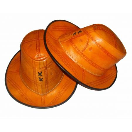 "chapeau cuir ""authentics"""