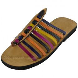 Sandales marocaines Essaouira en cuir